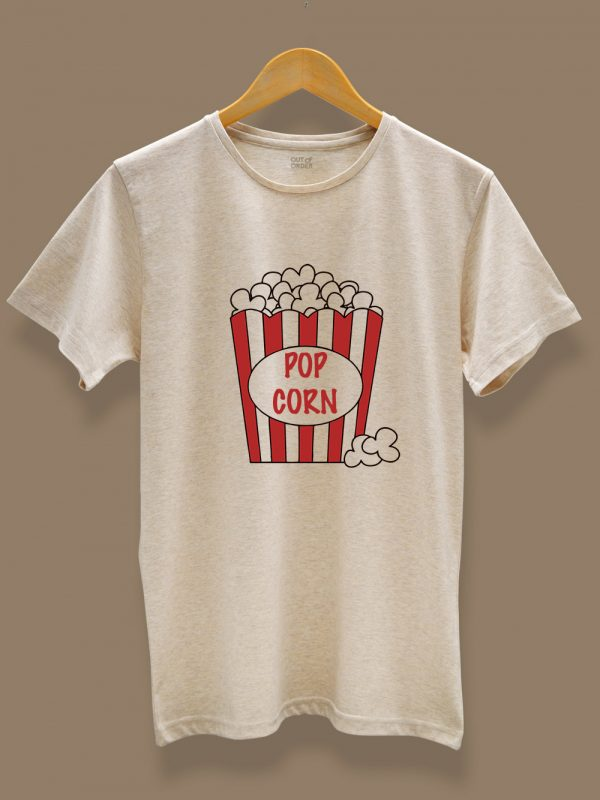 Popcorn and Cola Couple T-shirt 2