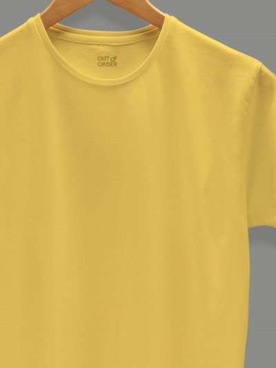 women's yellow t-shirt zoom
