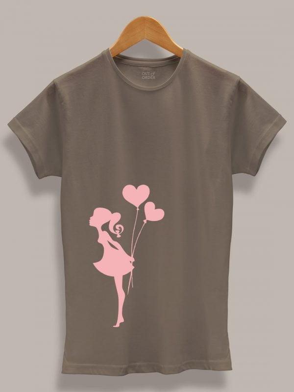 Kissing Couple T-shirt 4