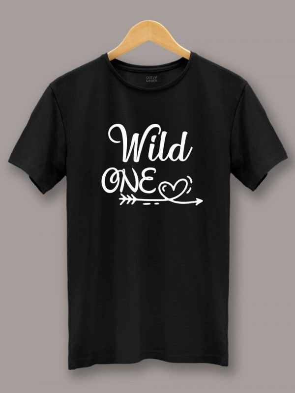 Mild One Wild One Couple T-shirt 2