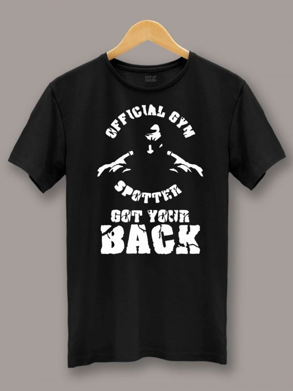 Gym Spotter T-shirt 2