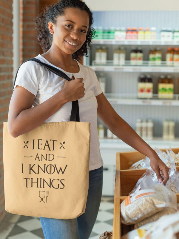 I eat and i know things Tote Bag 2
