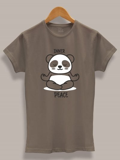 women's panda inner peace t-shirt