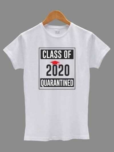 class of 2020 quarantined t-shirt for women
