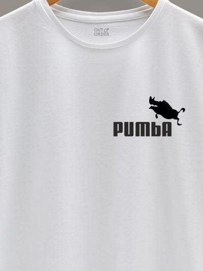 close up of Pumba Men's T-shirt