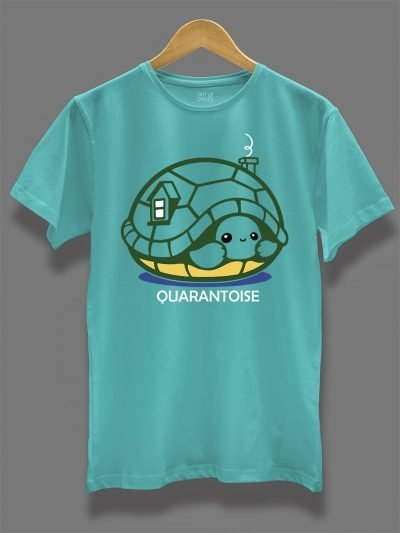 Quarantoise T-shirt displayed on a hanger