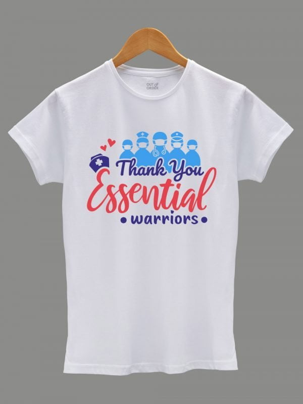 Thank you Essential Workers T-shirt for Women