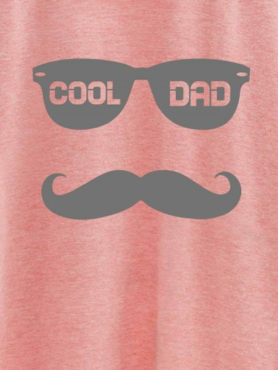 close up of Cool Dad T-shirt design