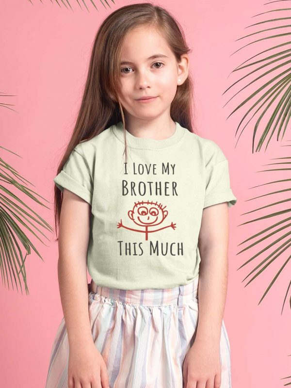 Buy, I love my brother t-shirt kids