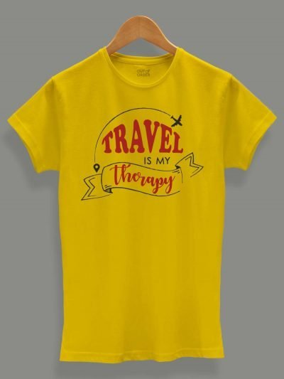 Buy Women's Time To Travel T-shirt, displayed on a Hanger
