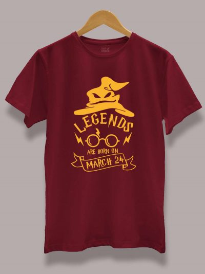 Buy Harry Potter Birthday T-shirt for Boys Displayed on a hanger