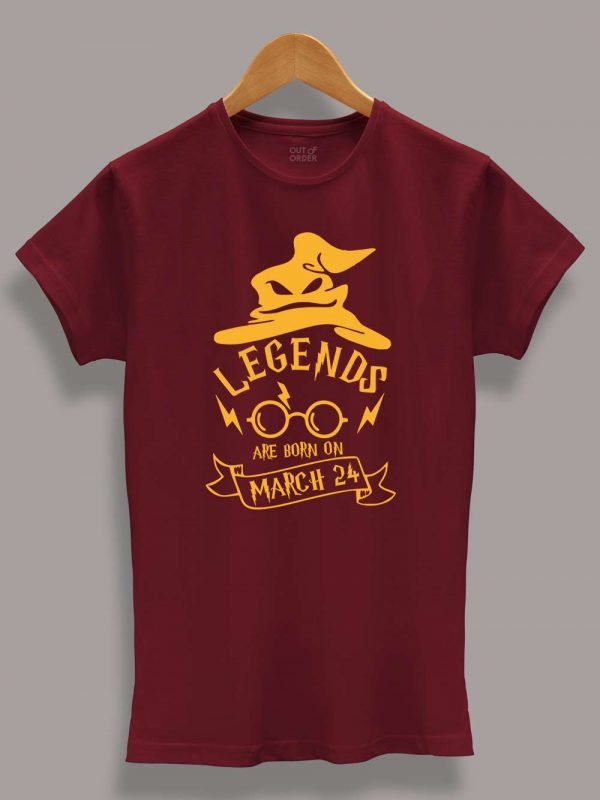 Buy Harry Potter Birthday T-shirt for Girls Displayed on a hanger