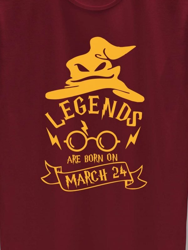 Close up of Harry Potter Birthday T-shirt for Girls design