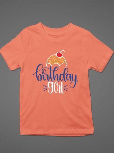 Buy Kids Birthday Girl T-shirt
