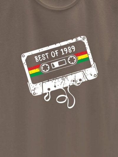 close up of Mixed Tape Women's Birthday T-shirt