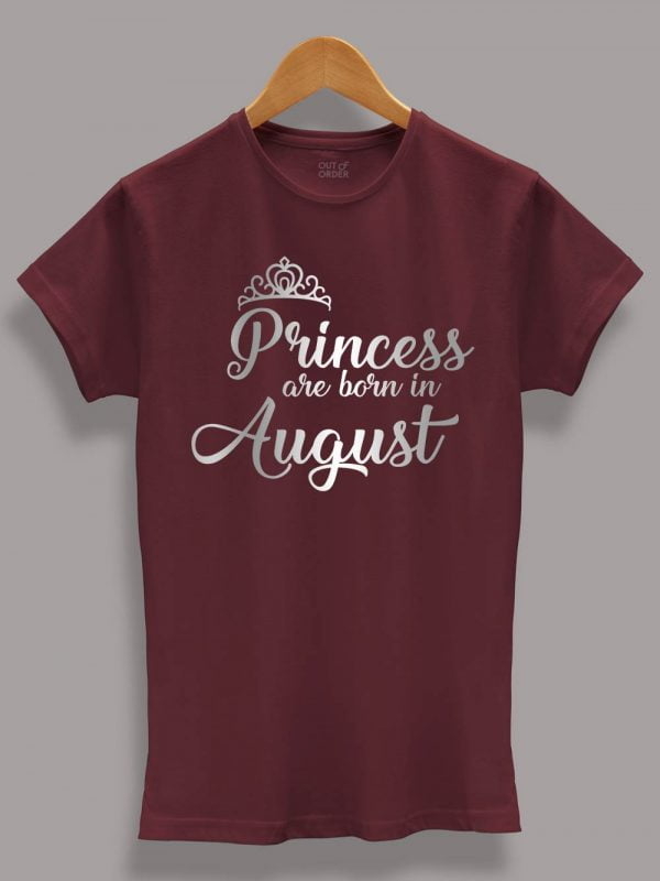 Buy Princess are Born in August displayed on a hanger