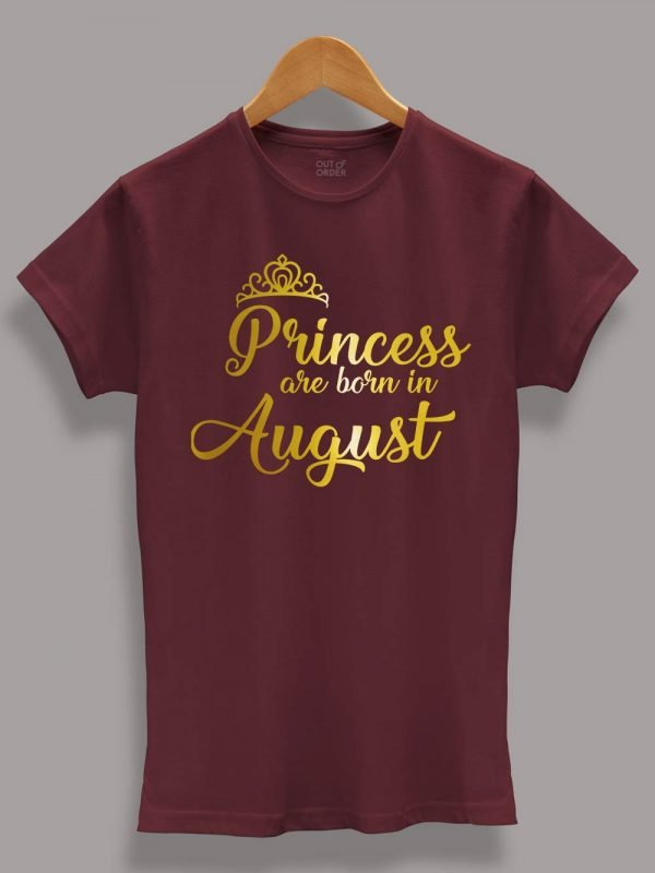 Princess are Born in August 4