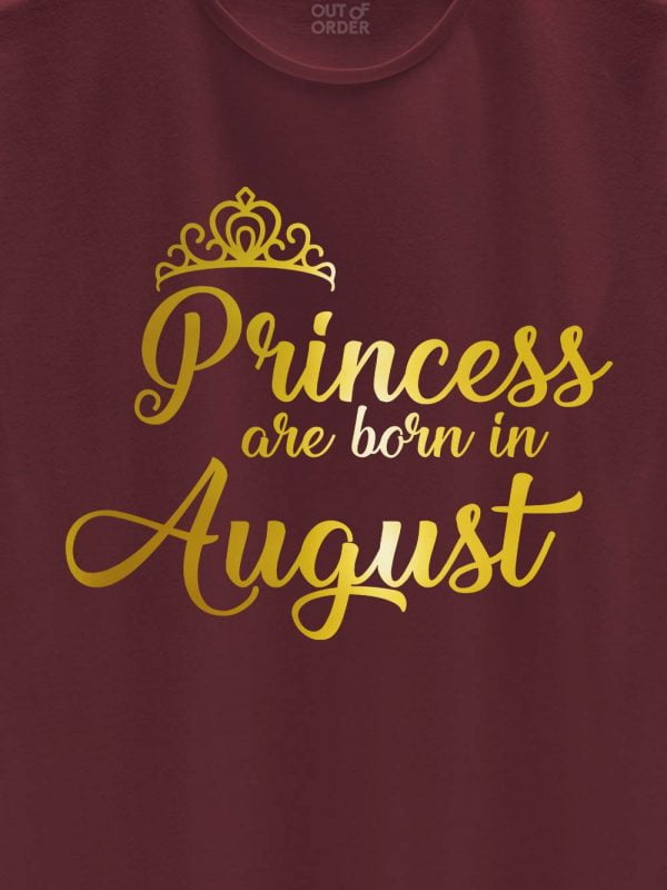 Princess are Born in August 2