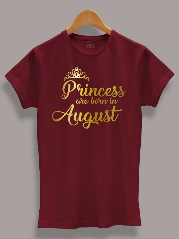 Princess are Born in August 8