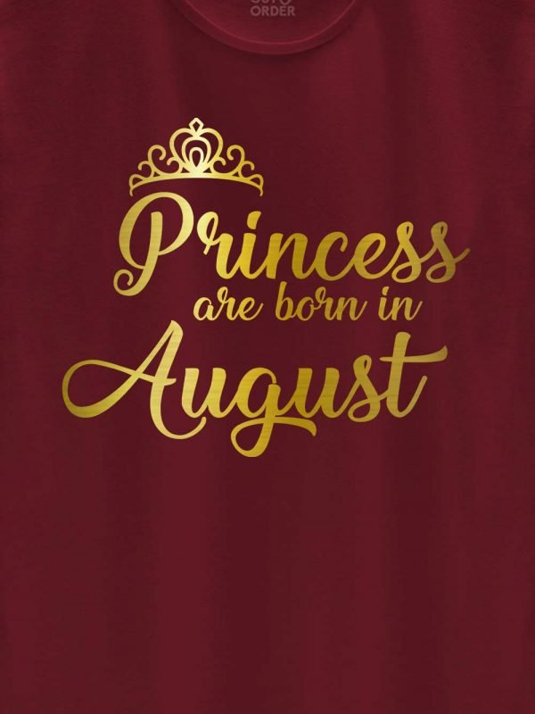 Princess are Born in August 10
