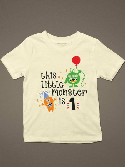 Buy this little monster kid's t-shirt