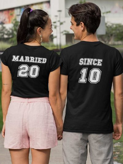 Anniversary T-shirt for Couples, available for sale
