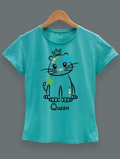 Lion King and Queen Couple T-shirt for women