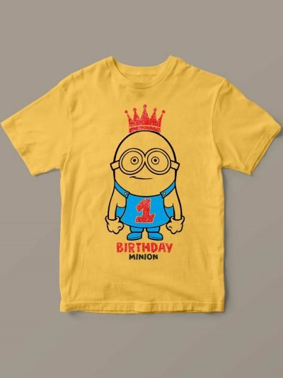 Birthday Minion Kid's t-shirt