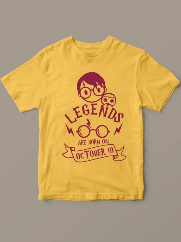Harry Potter Kid's Birthday T-shirt for sale