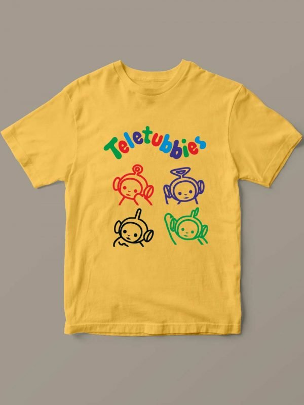 Teletubbies T-shirt for Kid's by OUT OF ORDER