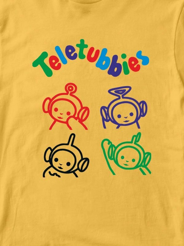 close up of Teletubbies T-shirt for Kid's