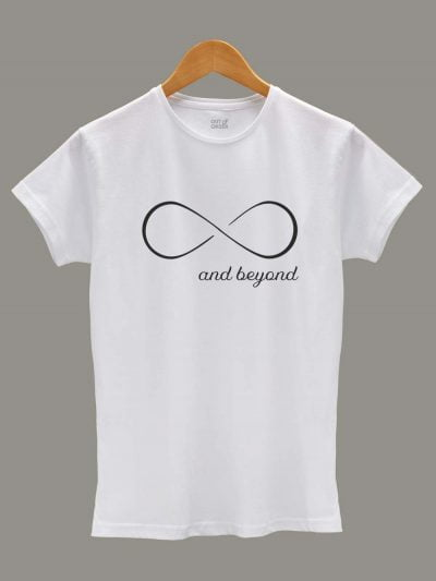 Women's To Infinity and Beyond T-shirt for Couples