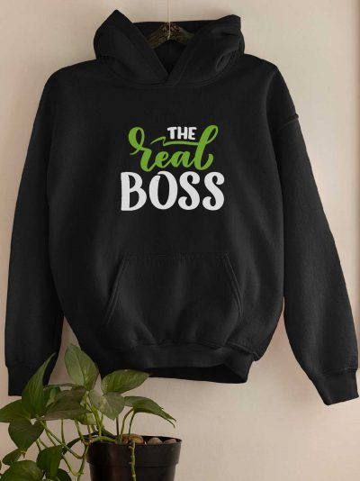 Boss Real Boss Couple Hoodie for women