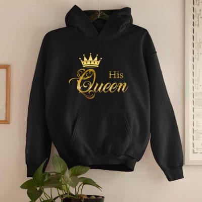 Couple Hoodies King and Queen