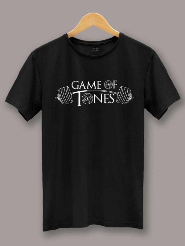 Game of Tones Gym T-shirt black