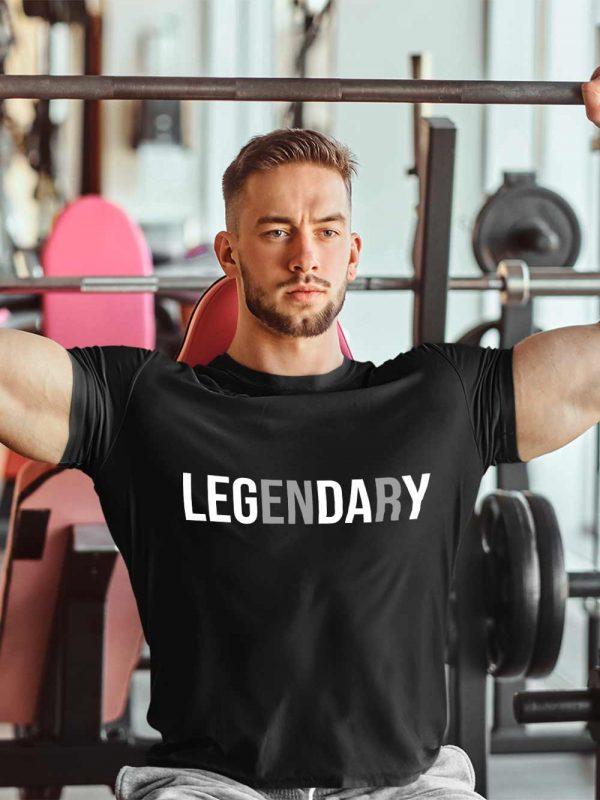 Buy Legendary T-shirt for Gym