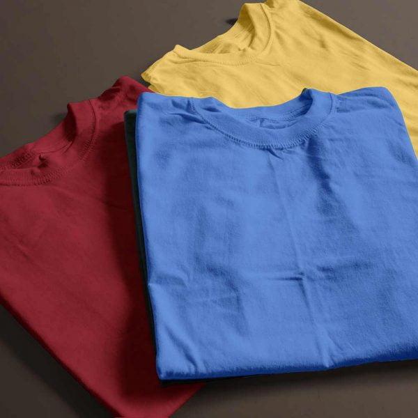 Plain T-shirt Combo Any 3