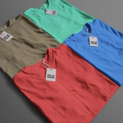 Plain T-shirt Combo Any 4
