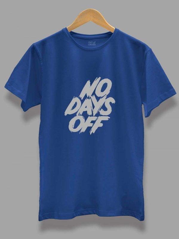 Men's No Days Off T-shirt for Gym